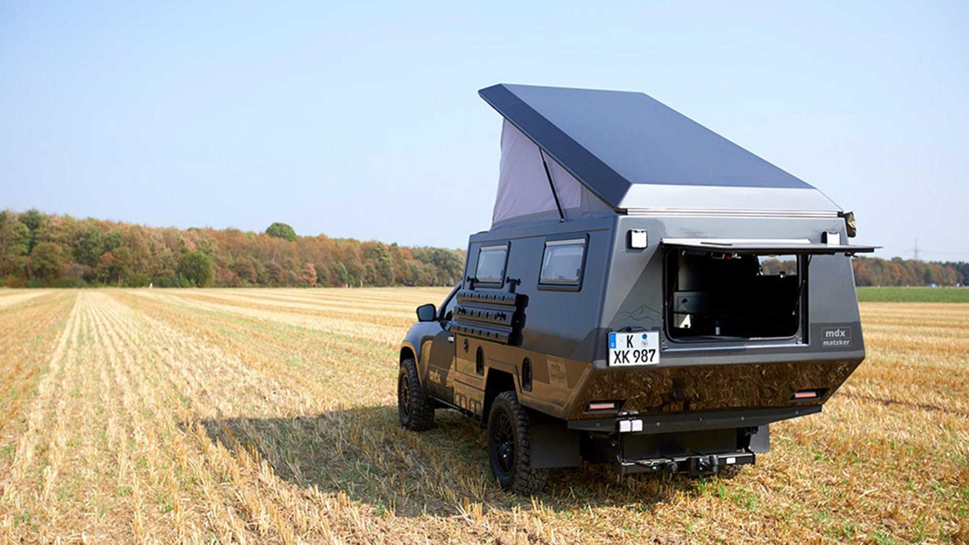 Mercedes Classe X camper Matzker