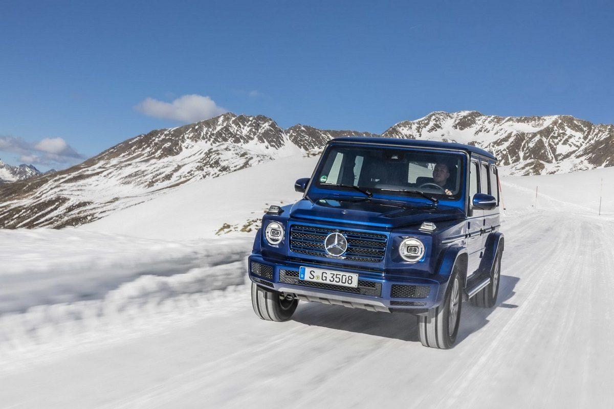 Mercedes G 350 d prezzo Regno Unito