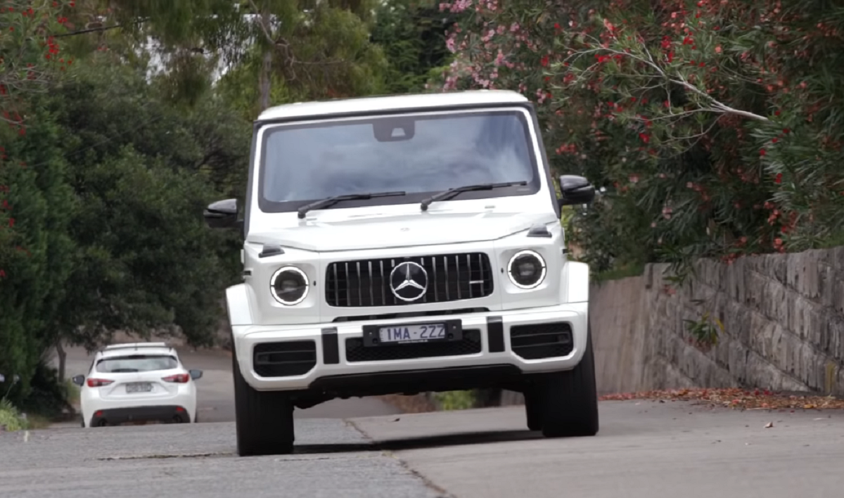 Mercedes G 63 AMG 2019 video