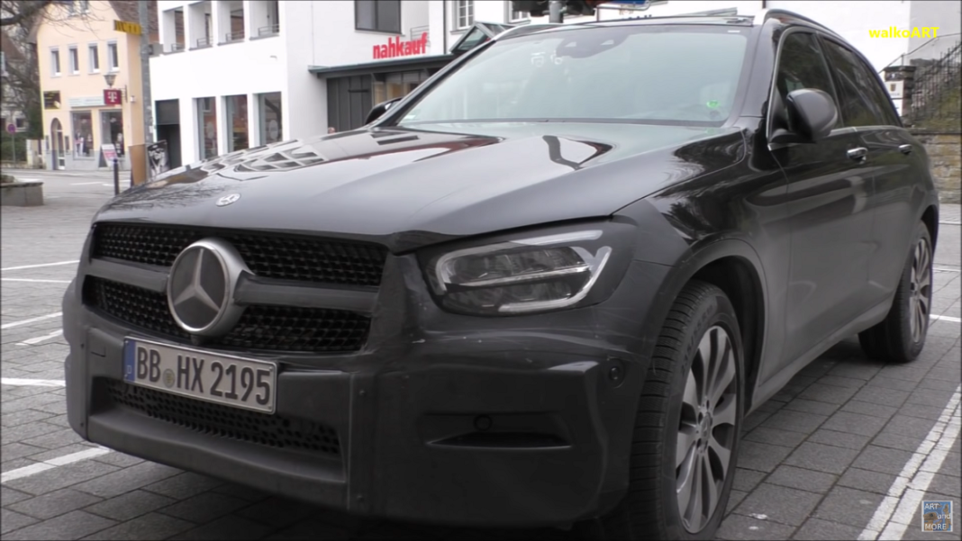 Mercedes GLC 2020 ultimo video spia