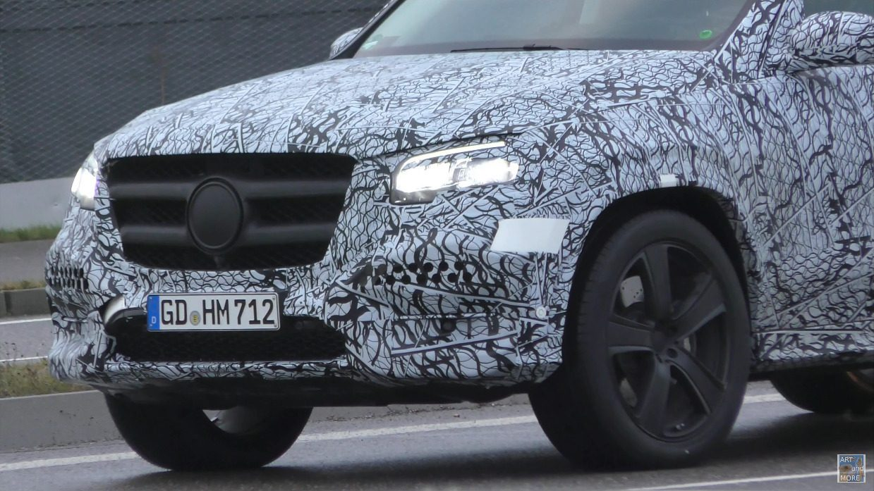 Mercedes GLS 2020 prototipo Germania