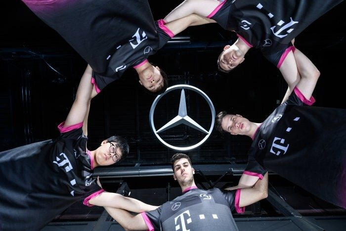 Mercedes partnership SK Gaming