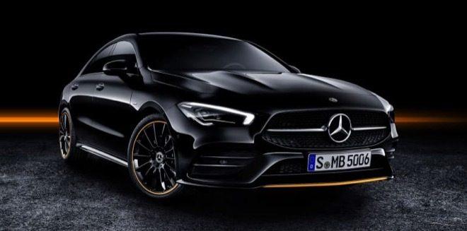 Nuova Mercedes CLA 2019 Anteriore