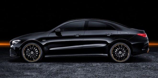 Nuova Mercedes CLA 2019 Laterale nera