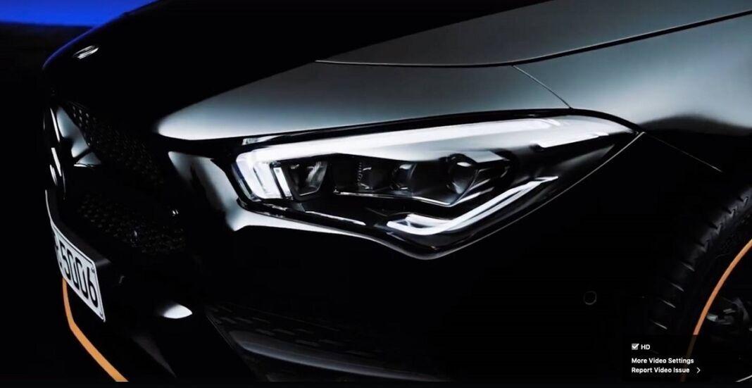 Nuova Mercedes CLA ultimo teaser