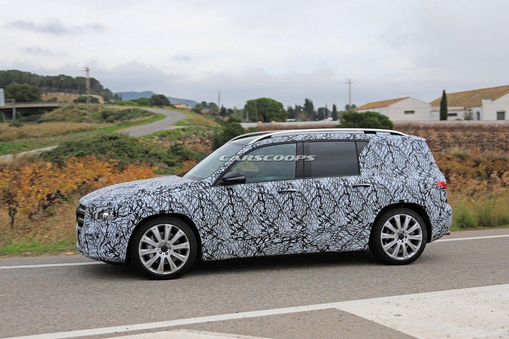 Nuovo Mercedes GLB estate 2019