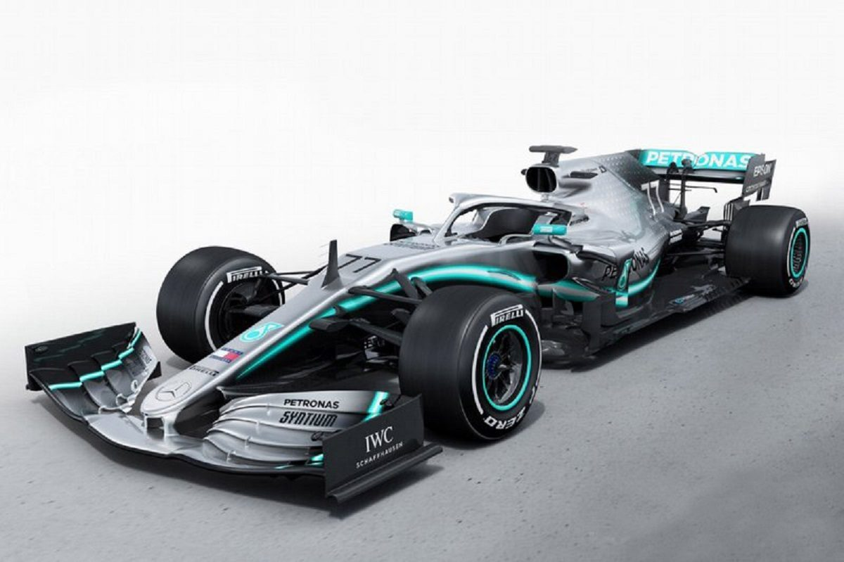 Mercedes W10 monoposto Formula 1 2019
