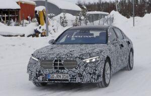 Nuova Mercedes Classe S altri scatti spia