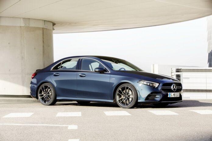 Mercedes A 35 AMG Berlina 2020 ufficiale