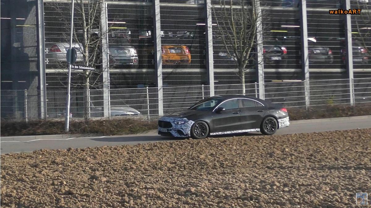 Mercedes CLA 45 AMG 2020 video spia WalkoART