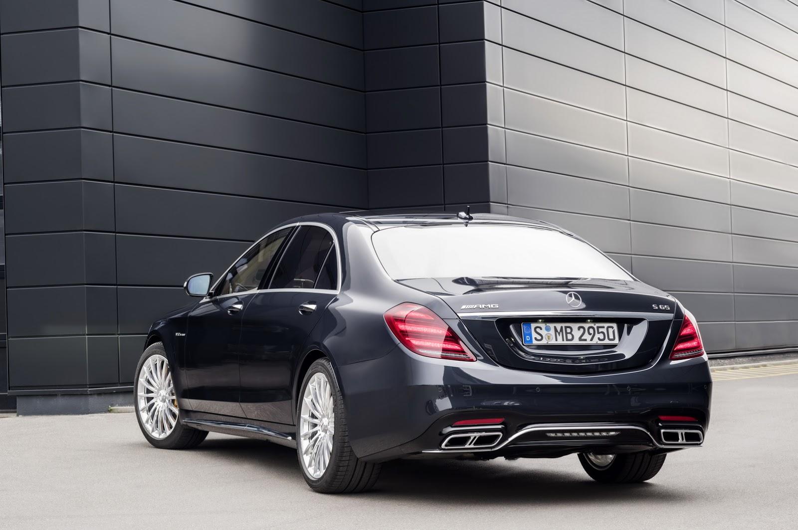 Mercedes Classe S 2018 richiamo sistema Pre-Safe