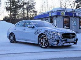 Mercedes E 63 AMG 2020 nuove foto spia