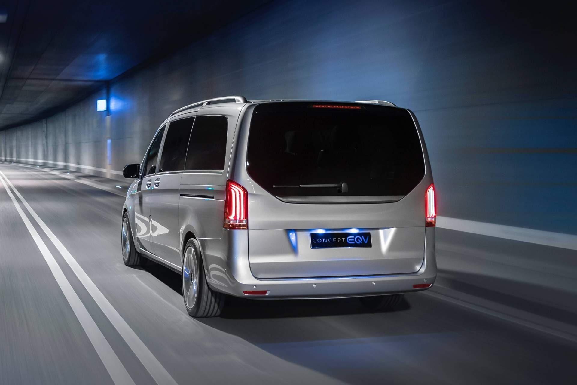 Mercedes EQV Concept Classe V