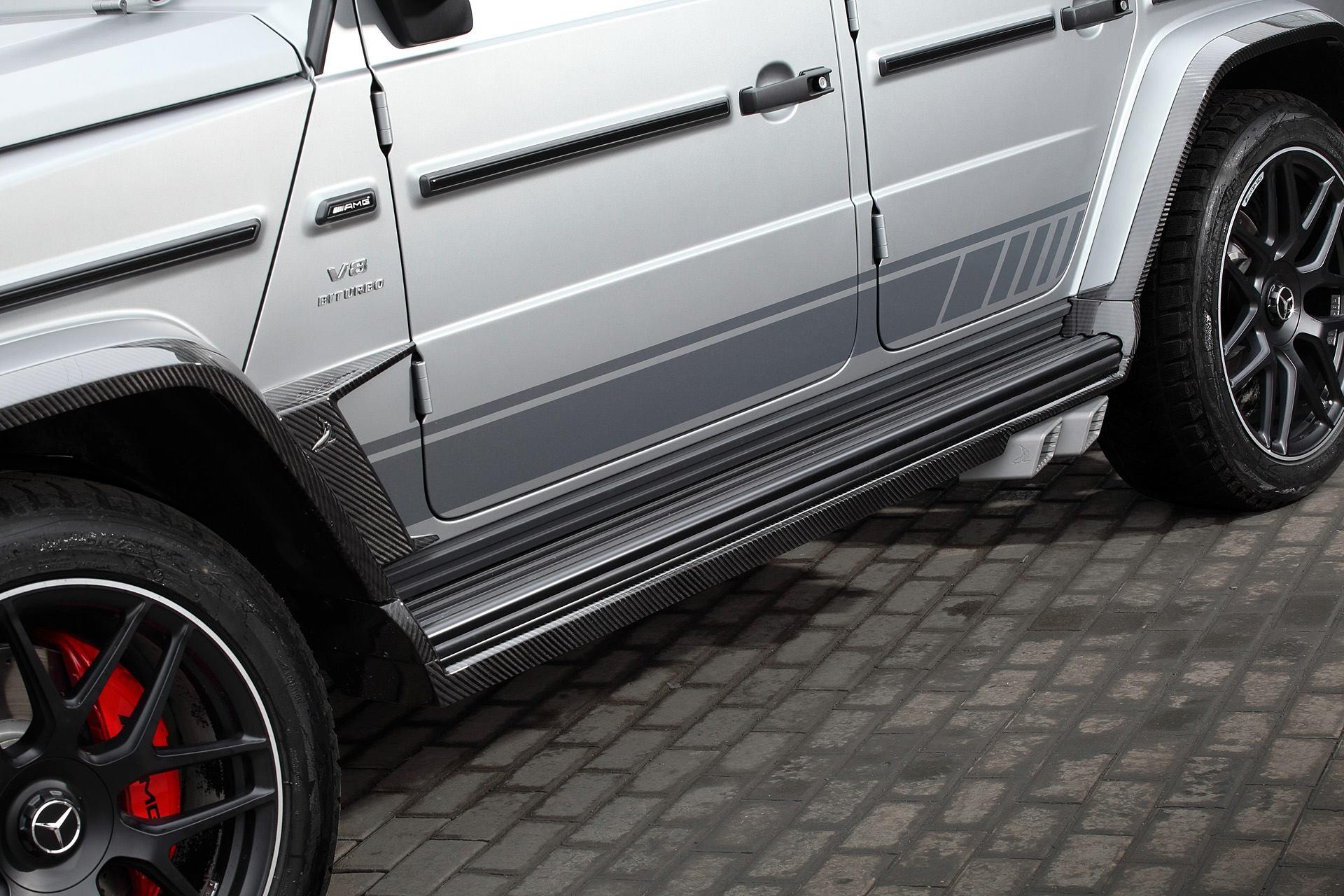 Mercedes G 63 AMG Topcar nuovo body kit Inferno