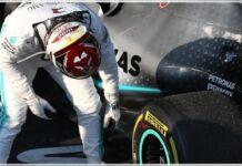 Mercedes - Lewis Hamilton