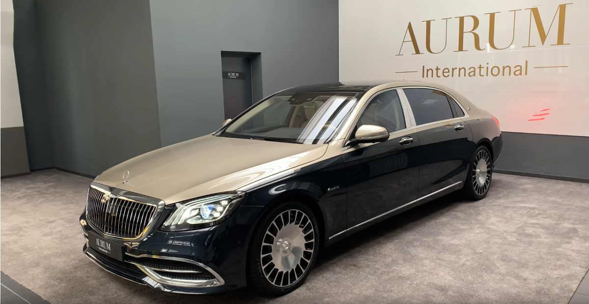 Mercedes-Maybach S 560 80. 000 dollari optional