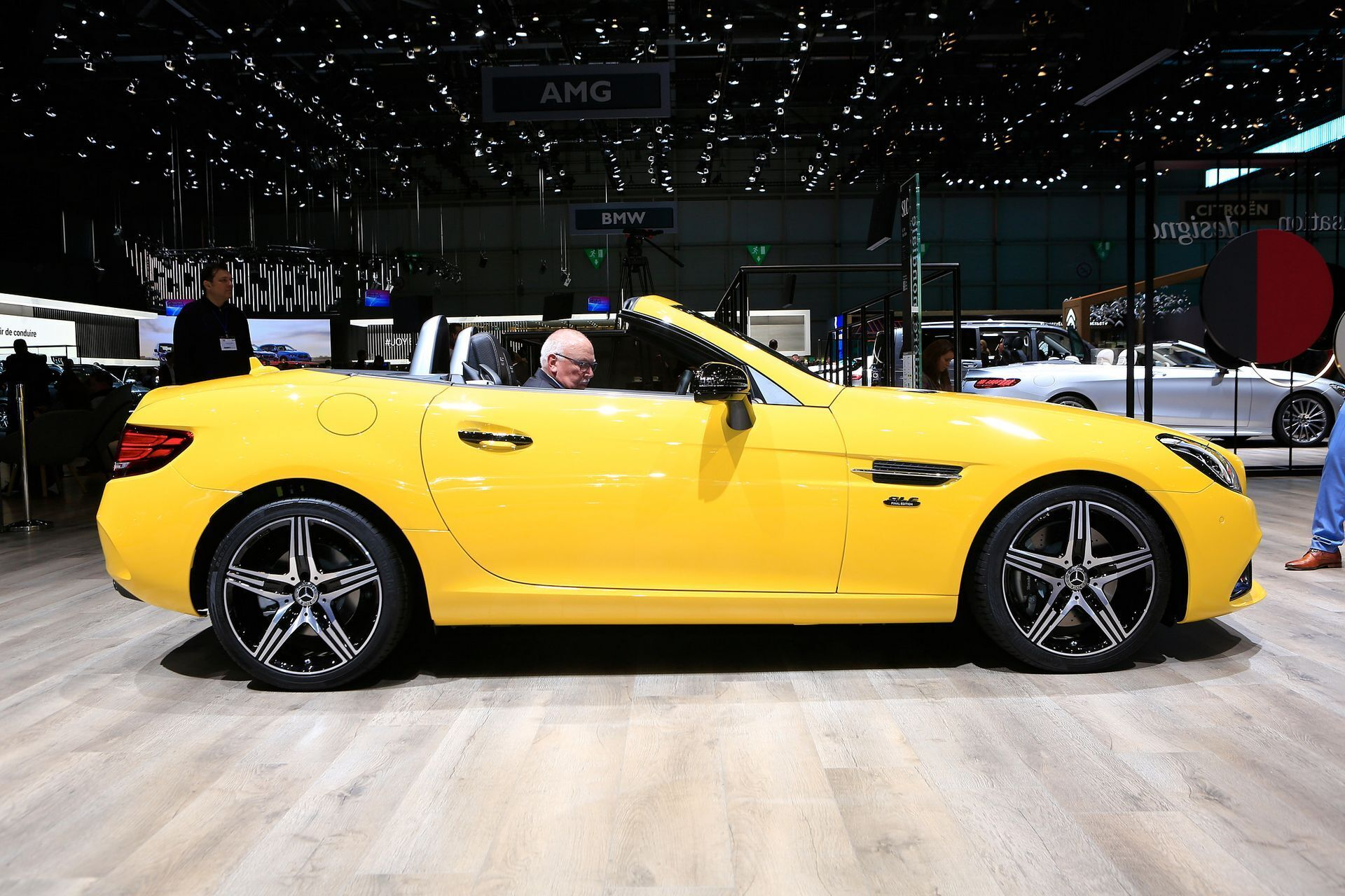 Mercedes SLC Final Edition Salone di Ginevra 2019 foto