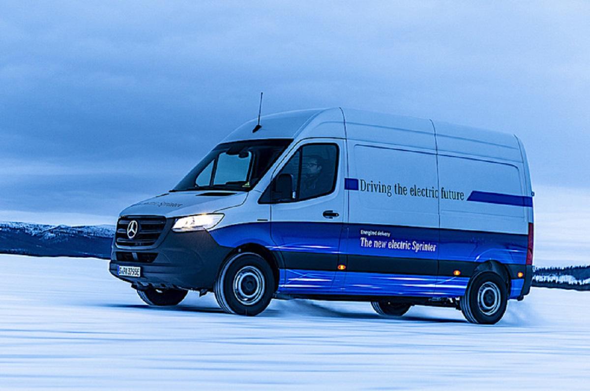 Mercedes eSprinter test invernali Svezia