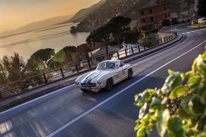 Mercedes 300 SL Gullwing Coppa Milano-Sanremo