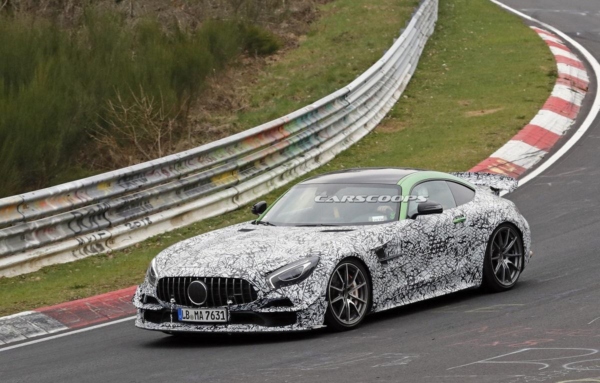 Mercedes-AMG GT Black Series foto spia