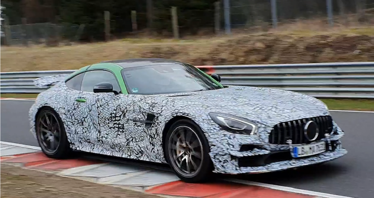 Mercedes-AMG GT Black Series prototipo Nurburgring