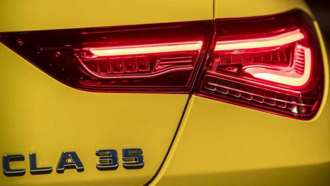 Mercedes CLA 35 AMG 2020 teaser