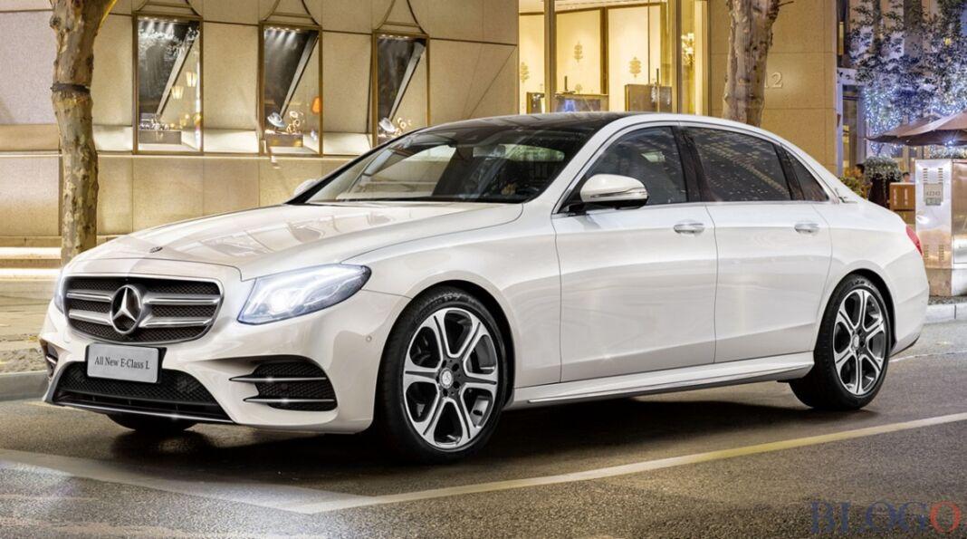 Mercedes Classe E passo lungo