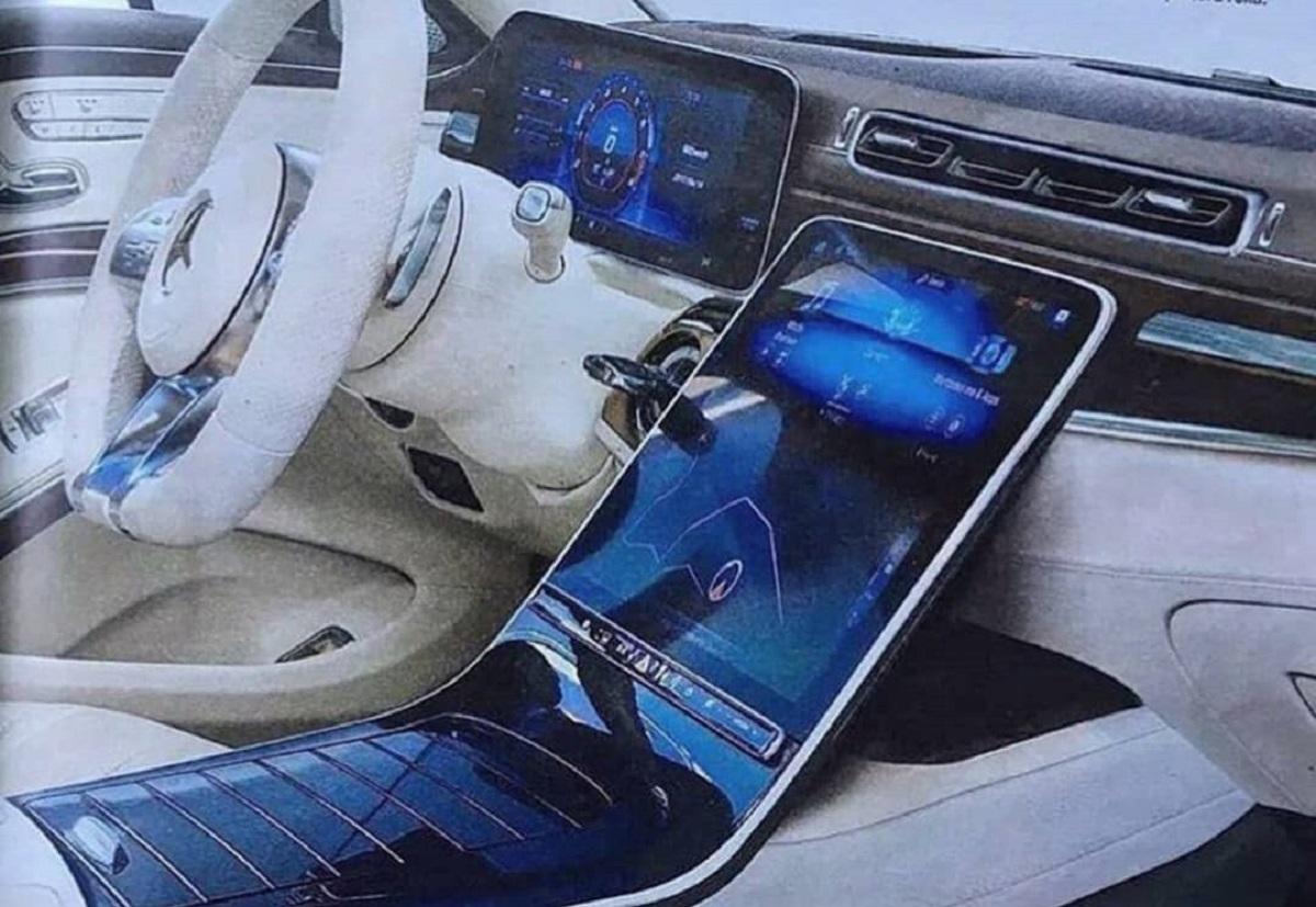 Mercedes Classe S 2020 interni render