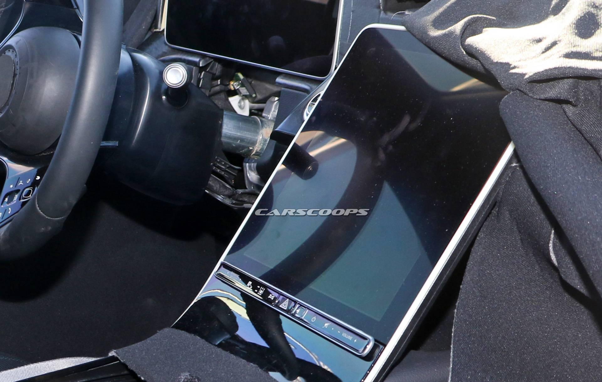 Mercedes Classe S 2020 ultime foto spia