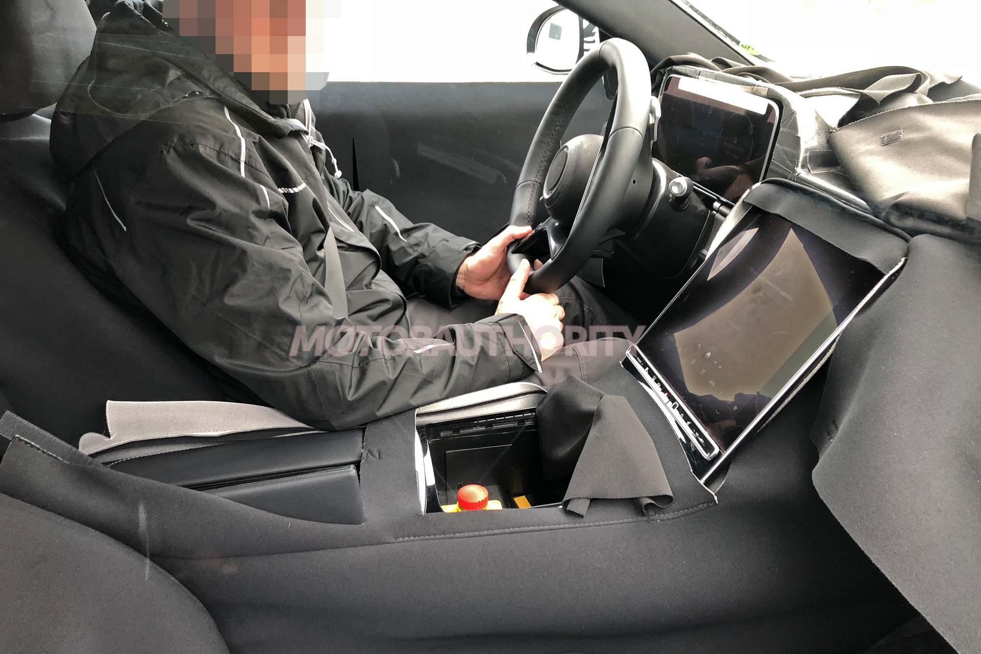 Mercedes Classe S 2021 foto video spia