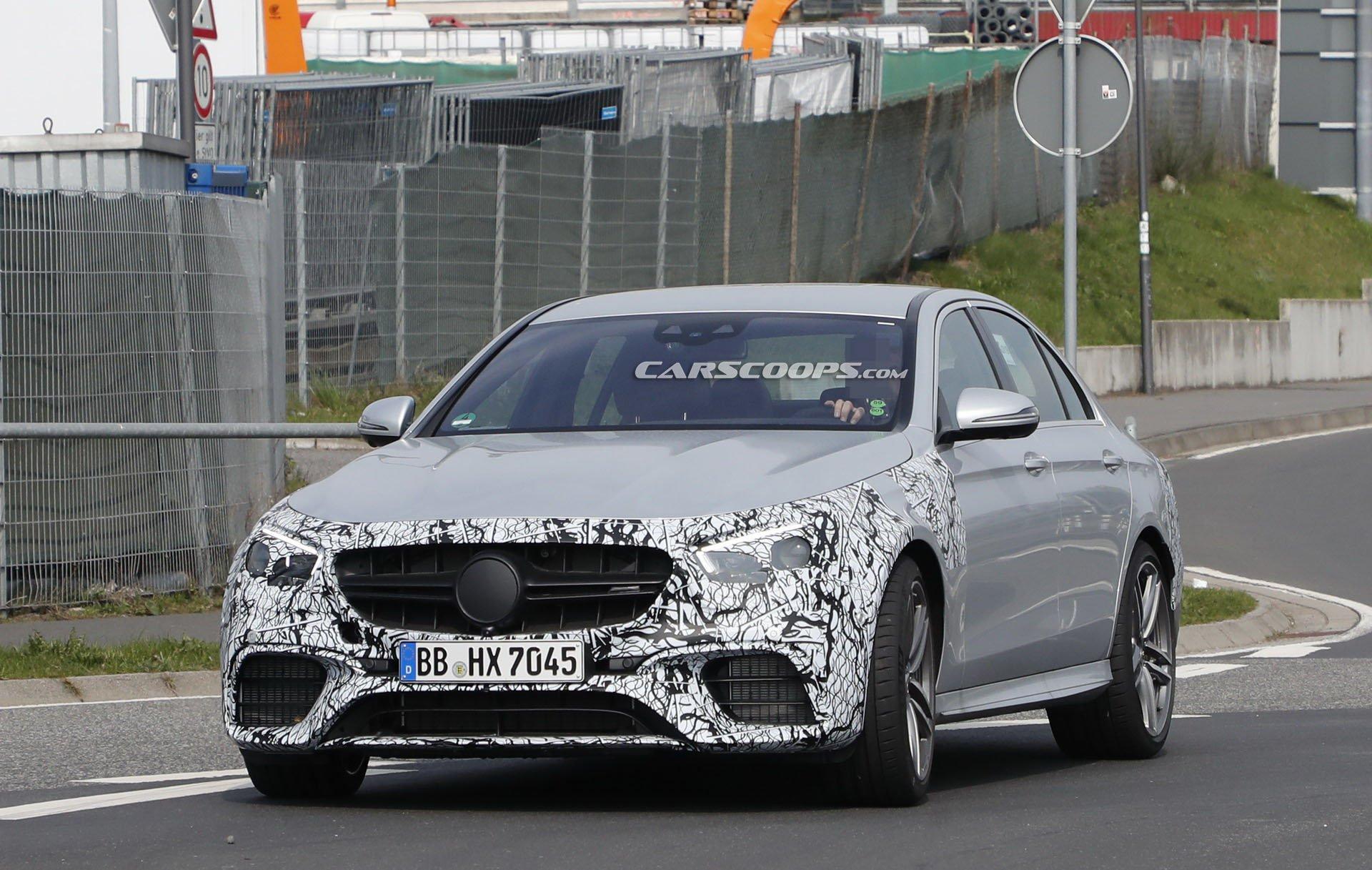 Mercedes E 63 AMG 2020 foto spia