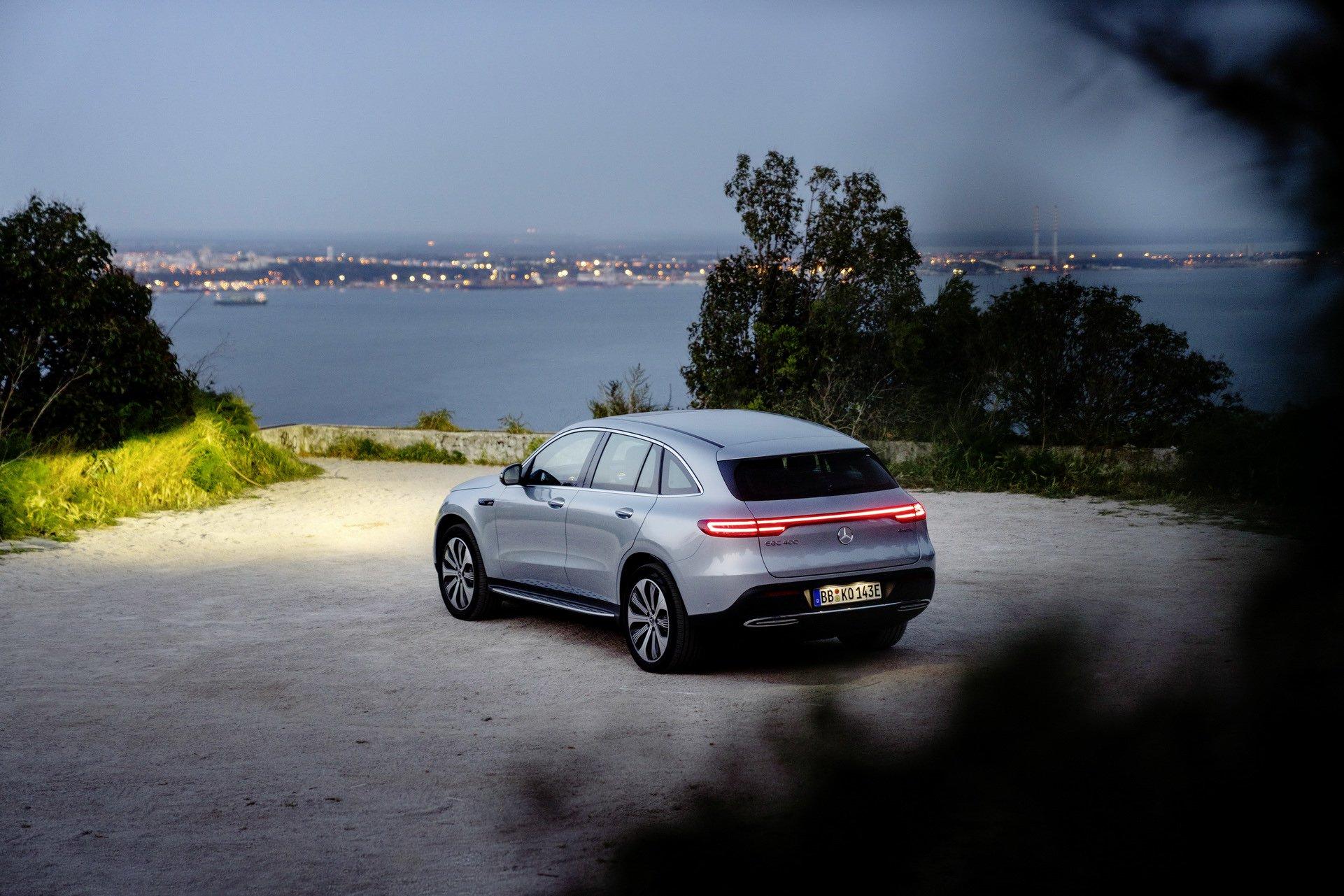 Mercedes EQC: svelati i prezzi e i modelli per l'Australia