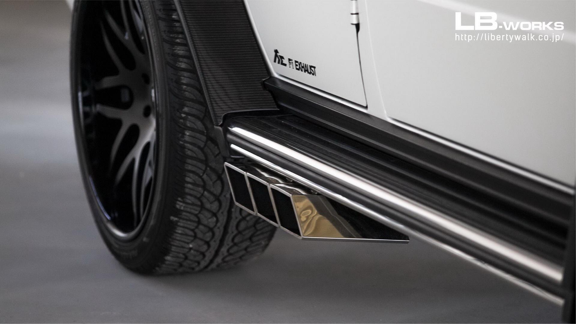 Mercedes G 63 AMG Liberty Walk