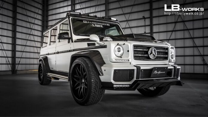 Mercedes G 63 AMG Liberty Walk