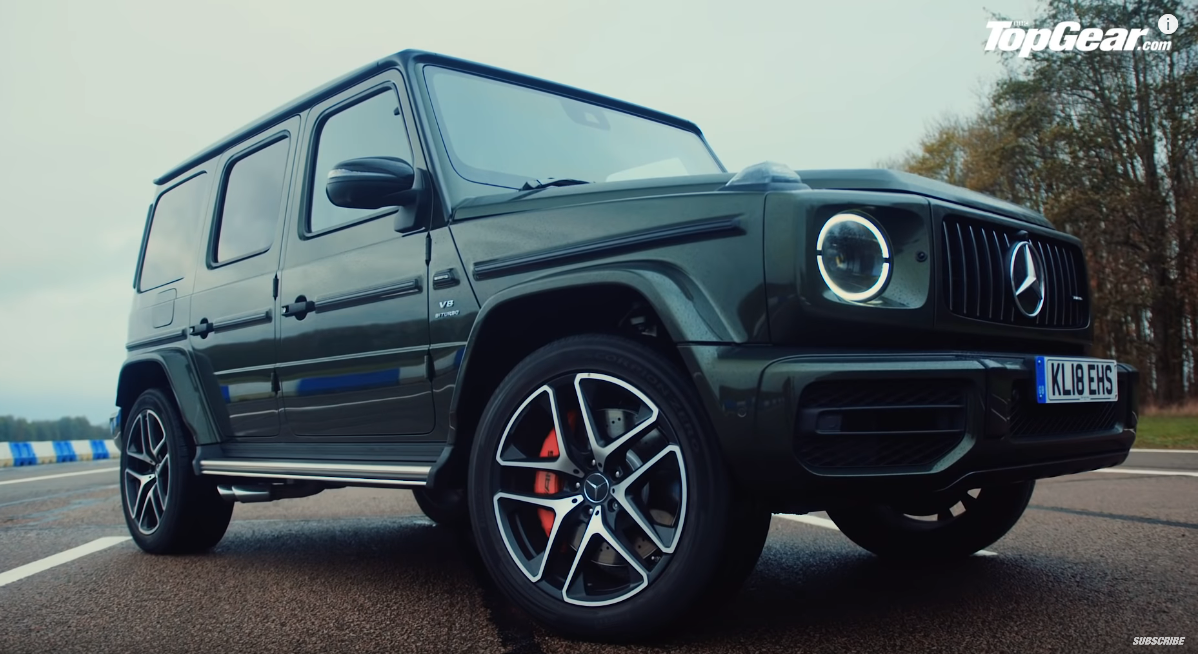 Mercedes G 63 AMG Top Gear UK video