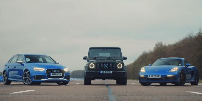 Mercedes G 63 AMG Top Gear UK video