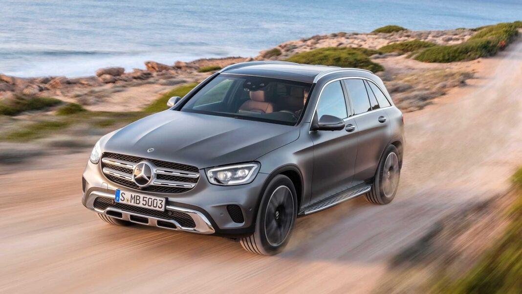 Mercedes GLC 2020 restyling