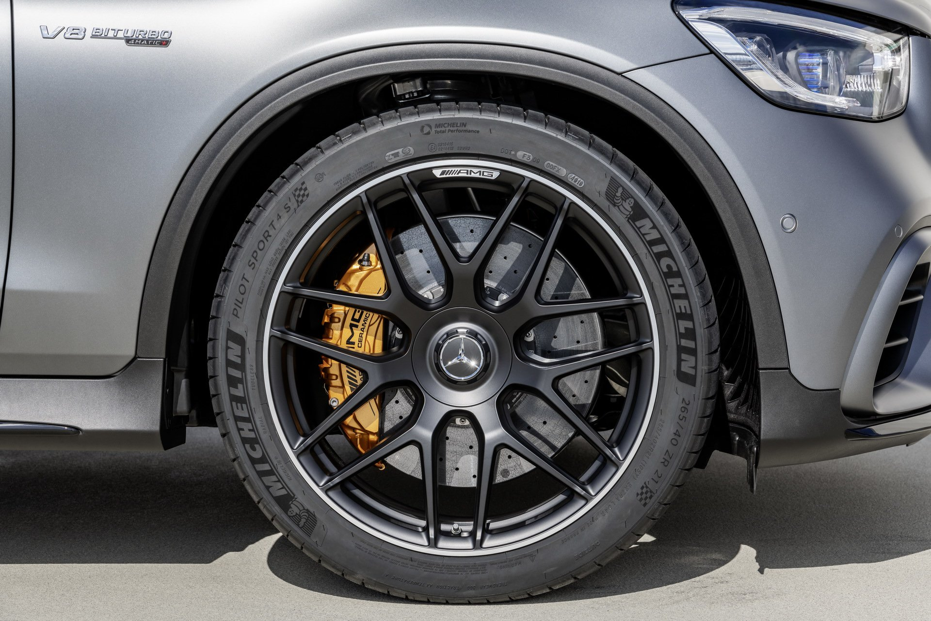 Mercedes GLC 63 S AMG Coupé