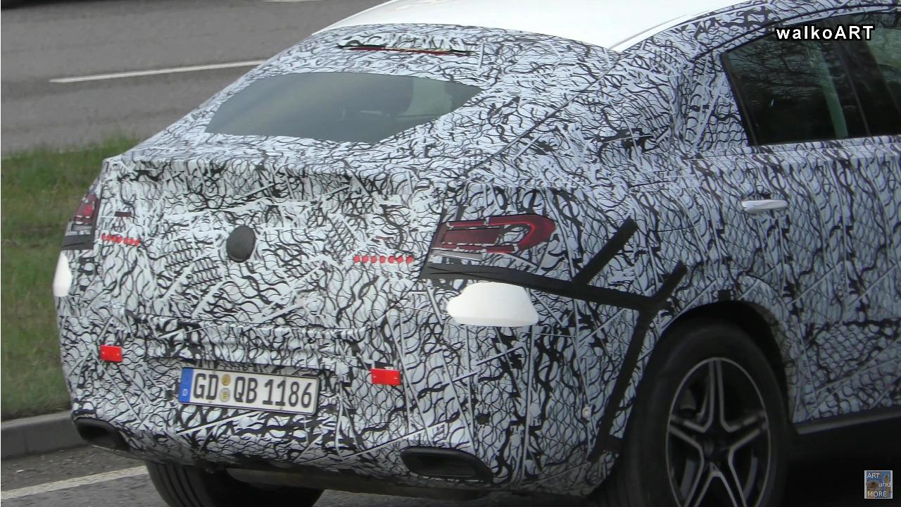 Mercedes GLE Coupé foto spia