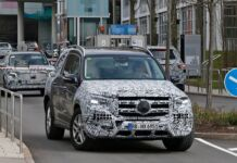 Mercedes GLS 2020 nuove foto spia