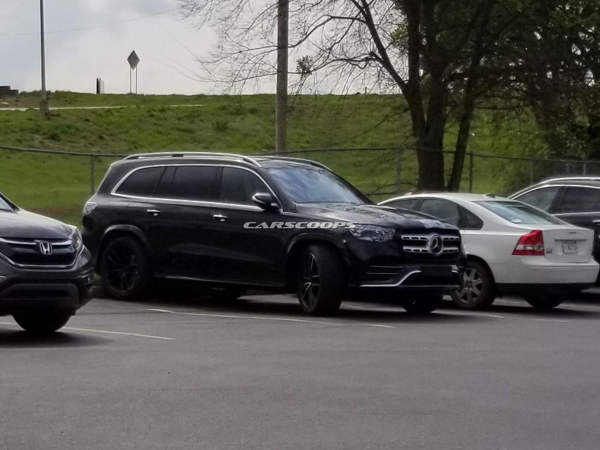 Mercedes GLS 2020 nuovi scatti Europa