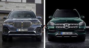 Mercedes GLS 2020 vs BMW X7 2019