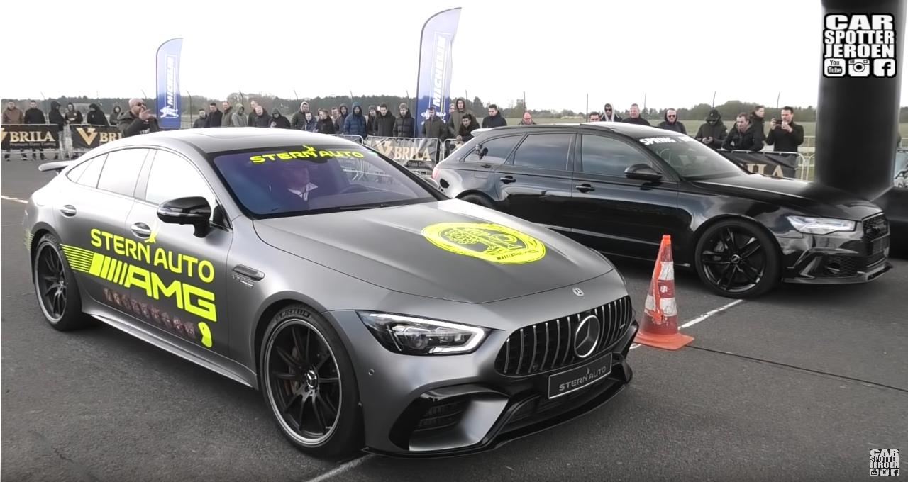 Mercedes-AMG GT 63 S drag race video