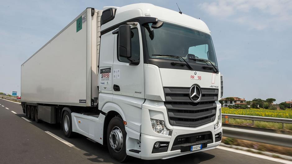 Mercedes autotrasporto