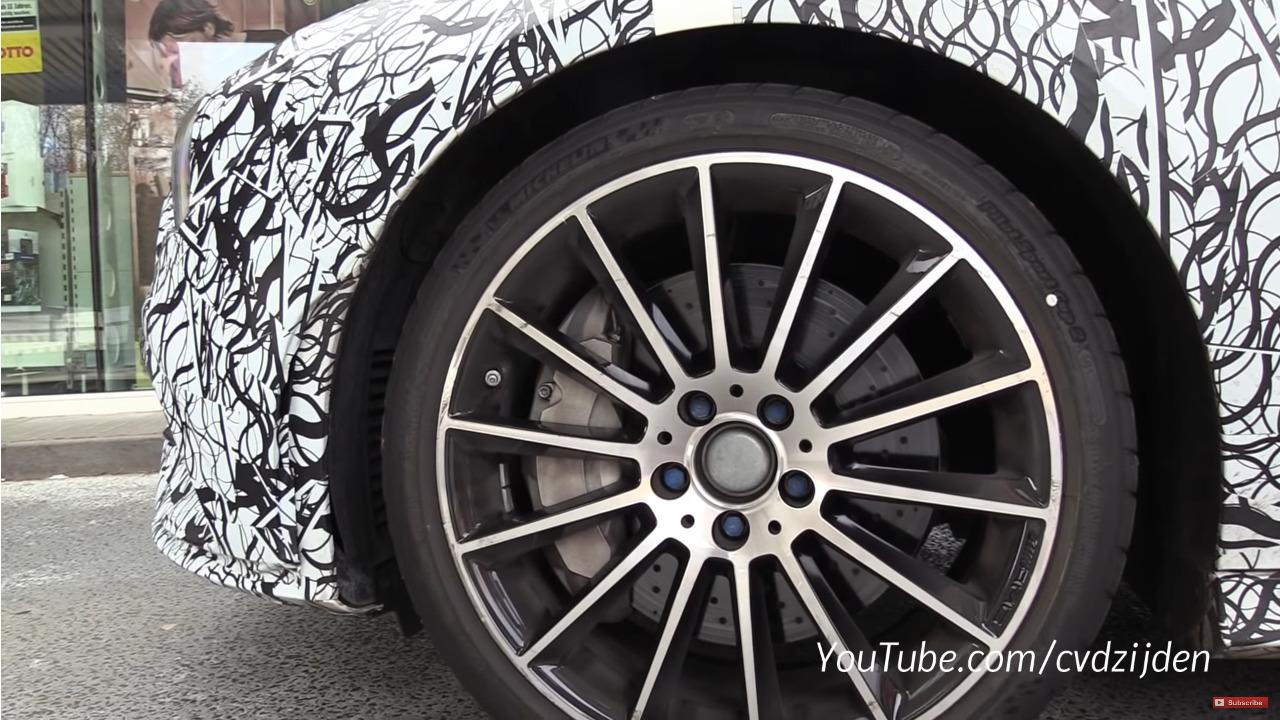 Nuova Mercedes CLA 35 Shooting Brake foto spia Nurburgring