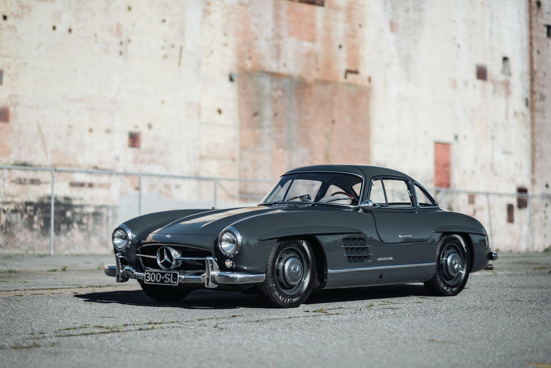 Mercedes 300SL Gullwing 1956 asta online