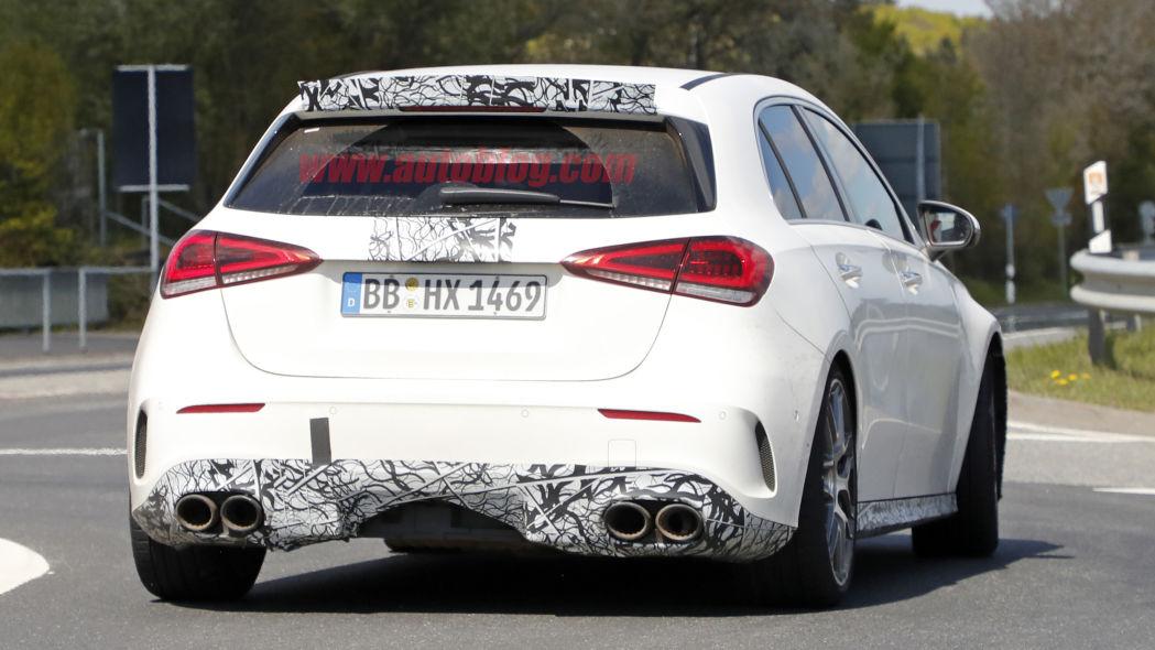 Mercedes A 45 AMG 2020: nuove foto spia catturate in Germania