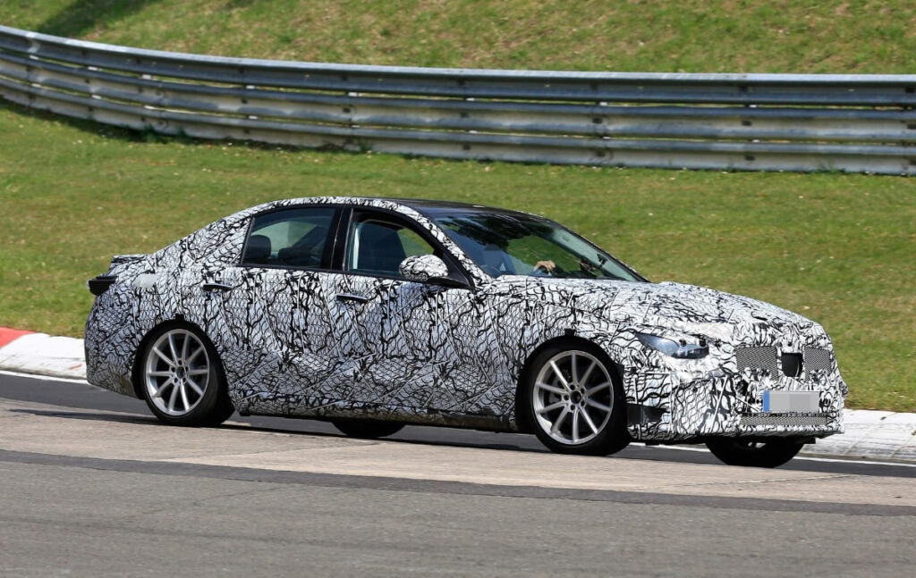 Mercedes Classe C W206 foto spia