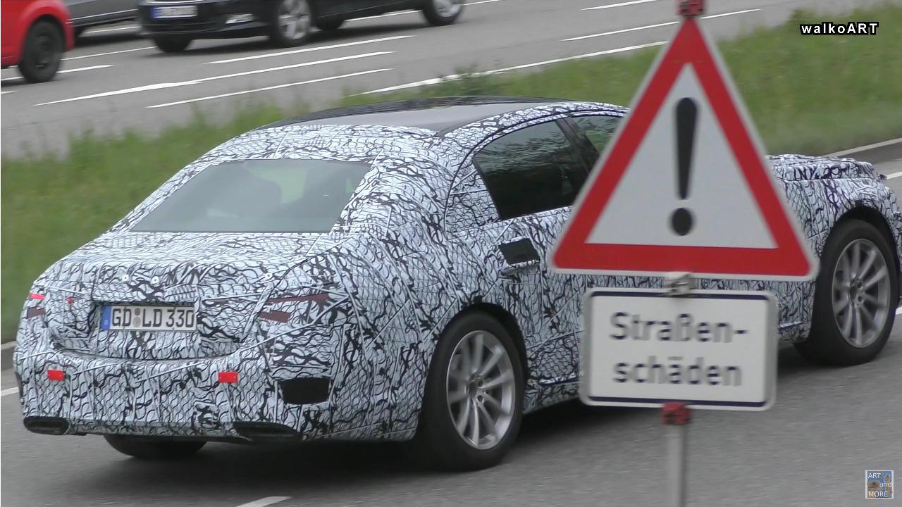 Mercedes Classe S 2020 foto luci