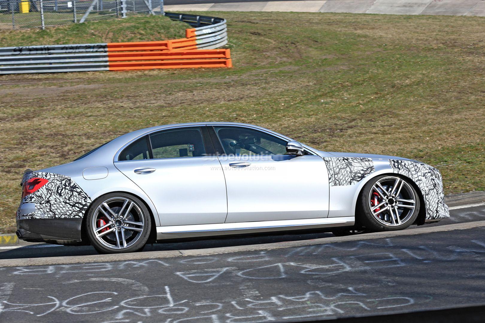 Mercedes E 63 S AMG 2021 prototipo Nurburgring